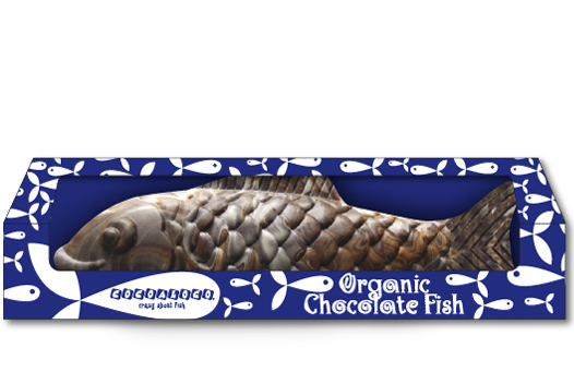 Organic Chocolate Fish